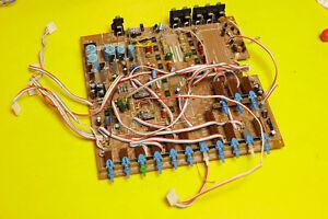 Sansui Compu Equalizer SE-9 SE9 - Parts Repair PCB Board Main 3509 Switch Button
