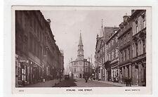 KING STREET, STIRLING: Stirlingshire postcard (C26106)