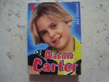 AARON CARTER  exclusive 1998 MINI BOOK miniature collection Book with photos