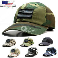 Polo Style USA US American Flag Baseball Cap Dad Hat Military Tactica Camo Hat