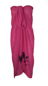 Ladies Women  Beach Sarong Dress Wrap Swimwear Beach Cover Up Scarf Sun Dresses