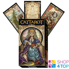 CAT TAROT DECK CARDS BARALDI MARSEILLE LO SCARABEO ESOTERIC FORTUNE TELLING NEW
