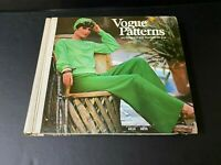 Vtg Vogue Patterns Catalog May 1974 Large Store Counter Pattern Book