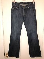 Ladies Seven For All Mankind Organic Denim Bootcut Jeans Size 24 X 29
