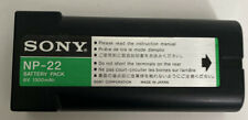New listing Sony Np-22 6v 1300mAh Battery Pack - Rechargeable Battery Genuine Oem