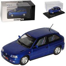 Opel Astra F GSI 16V 3 Türer Blau 1991-2000 1/43 Whitebox Modell Auto mit oder o