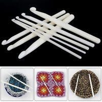 1pc 3-12mm Plastic Crochet Hook Knitting Needles Tool DIY Craft Accessories