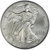 1999 1 oz American Silver Eagle Mint State