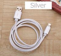 iPhone X 8 7 6s 6 1M/2M/3M lightning para cargar datos USB Cuerda Cable cargador