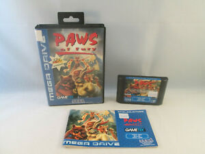 Sega Mega Drive Genesis - Brutal Paws of Fury