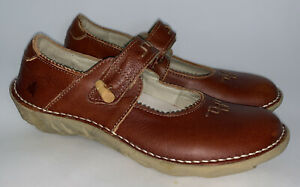 El Naturalista Nasca Size 39 8.5 Mary Jane Leather Hook Loop Strap Shoes