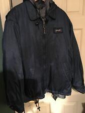 Navy Blue Schott Security Jacket
