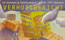 Telefoonkaart / Phonecard Nederland CT001 ongebruikt - Verhuiskaart
