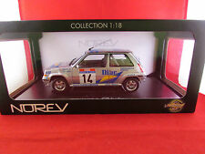 Norev-Renault 5 GT Turbo-Rallye Tour de Corse 34th - 1.18 - Nuevo y Sellado