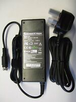 12V 4 pin power supply, mains adapter for Toshiba LCD and LED TV.