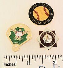 3 Little League Baseball PINs - FL D22 D10 D46 1987 Big League World Series