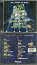 CONCERT ( 2 CD ) avec QUEEN, GENESIS, BLONDIE, IGGY POP, GENESIS, THE WHO, RUSH