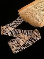Antique French Doll Trim Lace Victorian Edwardian Dolls Costume Per 1 Yard