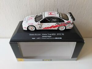 Onyx 1/43 MSD Honda Accord J. Kaye - BTCC 1996 - XT042