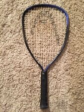 Head Demon XL Racquet Ball Racquet, Blue/Black, Size 3 5/8