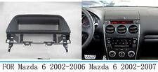 For Mazda 6/Atenza 2002-2007 Car Stereo Fascia Dash Panel Frame Trim Kit 1 Din