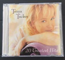 Tanya Tucker - 20 Greatest Hits [Like New CD] ~ MINT CONDITION!