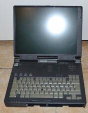 PC PORTABLE - COMPAQ ARMADA 7800 - INTEL PENTIUM 2 - VINTAGE - EN L'ETAT