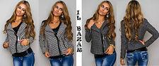 chaqueta de mujer estilo de uñas de lana 2 colores talla : S, M, L