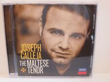 JOSEPH CALLEJA ~ THE MALTESE TENOR ~ 2011 DECCA ~ CD