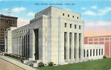 Chattanooga Tennessee~Post Office~Federal Building~Modern Architecture~1941