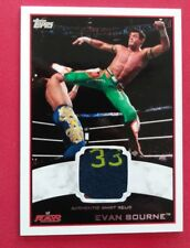 EVAN BOURNE 2012 TOPPS WWE RAW AUTHENTIC SHIRT RELIC