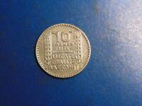 France 10 Francs KM# 878 1934  A681  I COMBINE SHIPPING