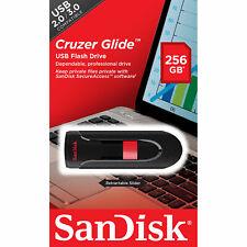 SanDisk® Cruzer Glide™ 256GB USB Flash Drive High Speed Memory Stick Genuine