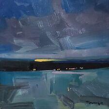 JOSE TRUJILLO Oil Painting TONALIST LANDSCAPE IMPRESSIONISM STYLE MODERN ART