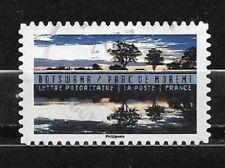 FRANCE oblitéré 2017 Botswana Y&T N° AA1365 cachet rond