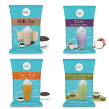Angel Specialty Products Bubble Tea Boba Drink Frappe Mixes Taro Milk Tea Matcha