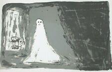 SERGE VANDERCAM Affiche lithographie signée dans la planche Cobra 54,5x47,5