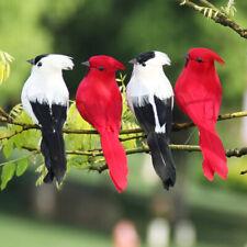 1Pcs Fake birds artificial feather foam doves wedding decoration venue ornam cz