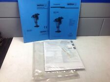Weber Mt plate compactor owners manual w/Honda engine supplement.nice