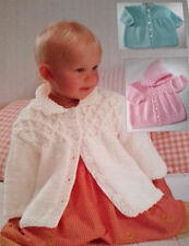 baby child jacket coat chunky knitting pattern with hood  222 99p