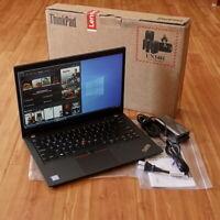 """New Lenovo ThinkPad T490 Laptop i5-8365U 8GB 14"""" IPS FHD 1920x1080 256GB SSD WTY"""