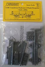 Cambrian C100 Cambrian Railways 2 Plank Wagon Plastic Kit OO Gauge