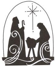 Christmas Jesus Nativity Scene Cross Stitch Pattern