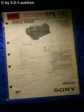 Sony Service Manual SPK TRC Sports Pack (#4926)