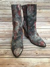 New Women's Free People Mystic Charms Heel Boots FP15114 Size EU 38 US 8