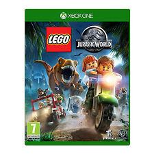 Lego Jurassic World Video Game pour Xbox One Consoles de Jeux Scellé Neuf