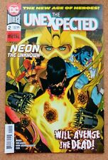 The Unexpected #2 DC Comics The New Age Of Heroes Dark Knights Metal