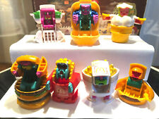 SET of (7).. 2nd Series McDONALD'S 1987-89 FOOD CHANGEABLES TRANSFORMERS ROBOTS