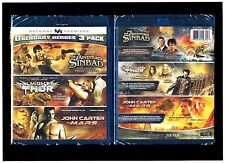 Legendary Heroes: 7 Adventures of Sinbad/Almighty Thor/John Carter of Mars - New