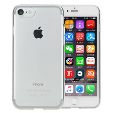 Ultra Thin Transparent Soft Silicone Back Case Cover Skin For Apple iPhone 7